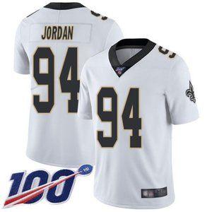 Saints Cameron Jordan 100th Season Jersey 1
